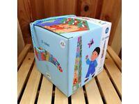 As new Djeco cubes pyramid in original box