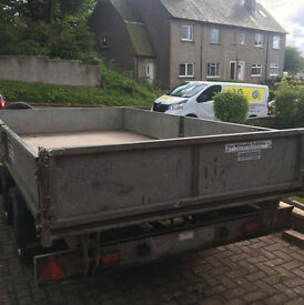 Ifor Williams 12 X 6 Tipper Tipping Trailer