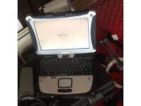 Diagnostic cf-19 Touchscreen laptop Toughbook FORD RENAULT CLIP NISSAN