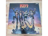 Kiss – Destroyer - UK - 1977 - CAL 2009 - EX/VG+ - solid black vinyl