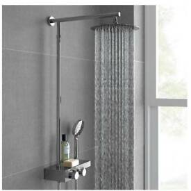 "10"" thermostatic shower"