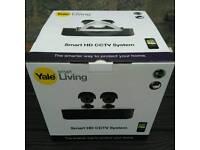 Yale Smart HD 2 Camera CCTV System Kit *Brand New & Boxed*