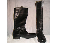 G-Star RAW Real Leather Riding Style Boots size 6