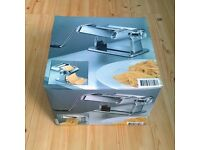 New STAINLESS STEEL PASTA MAKER/ MACHINE for Lasagne, Tagliatelle & Fettucine
