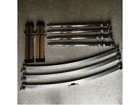 PEARL ICON DR-503C Drum Rack with 4 PCL-100 Rack Leg Clamps