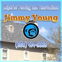 QUALITY ROOFING & RENOVATIONS! CALL FOR A QUOTE!