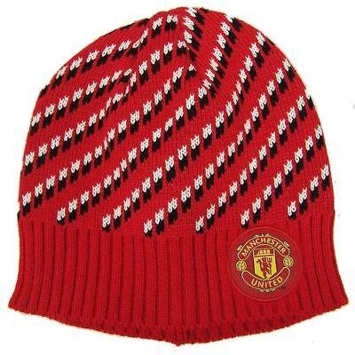 Manchester United Beanie - Manchester United Beanie Red Dot Skull Cap Hat New Season