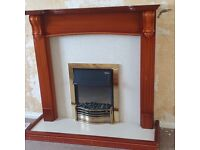 Fireplace including Electric Fire