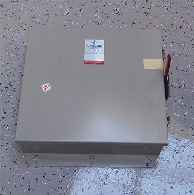 Challenger 600ac 250dc 30a Enclosed Disconnect Switch Rhd661nf Pzf