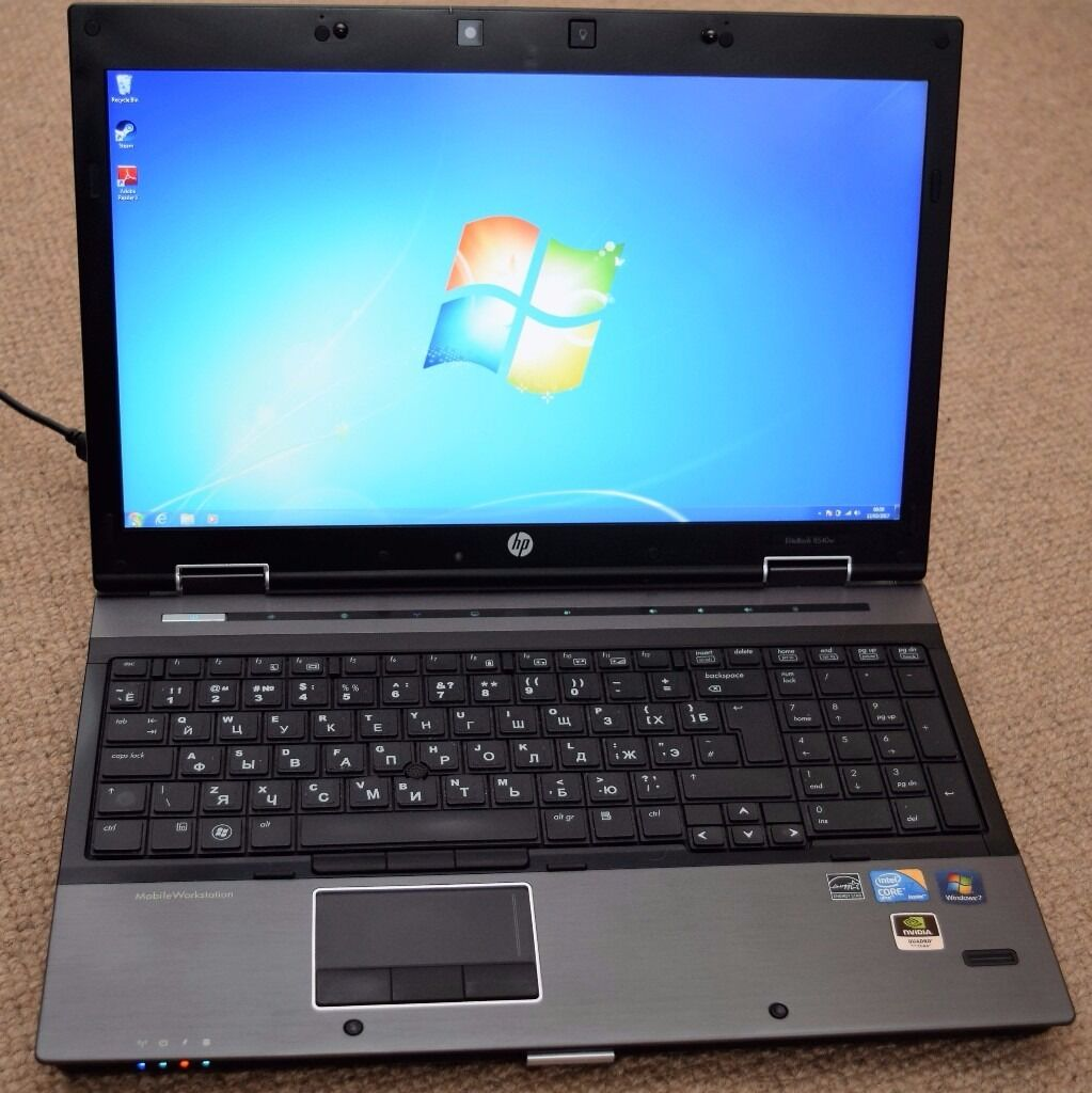 HP EliteBook 8540w Mobile Workstation Intel PROSet Treiber