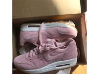 Brand new Pink/white Nike Air Max 1's