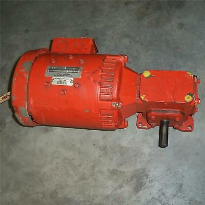 Emerson 1750rpm Electric Motor With Reducer F001 Uniline 2000