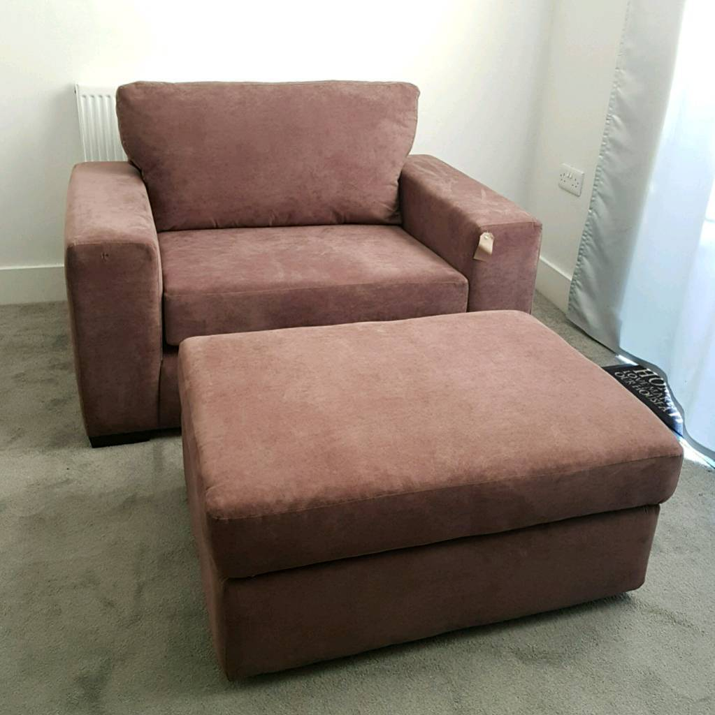 Fabulous Sofa For 2 Cuddle Chair Loveseat New Plus Storage Ottoman Chocolate Brown Living Room Furniture In Tadcaster North Yorkshire Gumtree Lamtechconsult Wood Chair Design Ideas Lamtechconsultcom