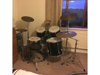 Full 5 Piece Performance Percussion Drum Kit And More - Great Condition!