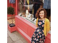 Maternity cover required for part time fashion sales assistant in Clifton