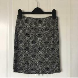 Black sparkly skirt from H&M size XS