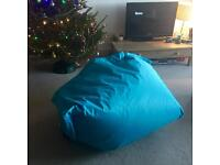 Indoor/outdoor giant bean bag
