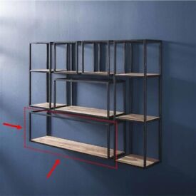 [NEW] Wall shelf from Furnwise (solid acacia wood + metal)