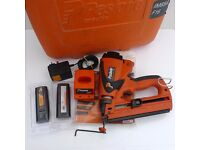 PASLODE IM65A (ANGLED) SECOND FIX NAIL GUN +CASE+ACCESSORIES