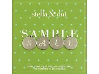 Stella & Dot Sample Sale - 50% or more off ex display items