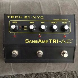 TECH 21 Sans Amp Tri-A.C. effects pedal
