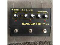TECH 21 Sans Amp Tri-A.C. effects pedal