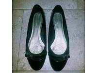 Black Patent Leather Shoes Size 7