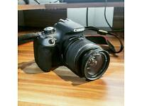 Canon 1200d & 18-55mm lens, Great Condition!