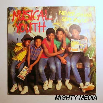 """MUSICAL YOUTH  - NEVER GONNA GIVE YOU UP - 7"""" Vinyl Record : EX (c347)"""