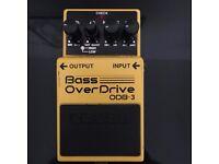 Boss Bass Overdrive ODB-3 -Bass Guitar pedal