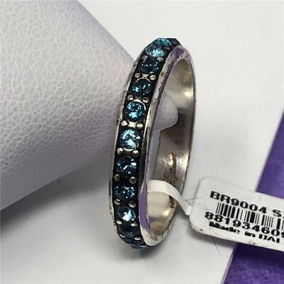 BRIGHTON CRYSTAL PALACE RING  SIZE 9  NWoutlet tag  mulit blue