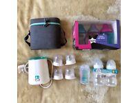 Innosense/Tommee Tippee Bottles, Warmer & Bag
