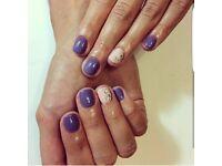 Good Deal: Shellac/ Gel / Acrylic Nails, Cluster and Individual Eyelashes HARLOW