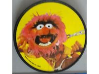 Xmas gift - Vintage 1981 Animal character from the Muppets bicycle wheel reflector – post or collect