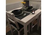 Brend new IKEA Danhult Table and 2 chairs