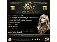 Hair Extension Training Derbyshire
