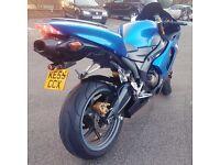 Kawasaki Ninja ZX 636 Blue - like yamaha r6 suzuki gsxr honda cbr 600cc zx6r