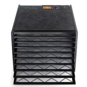 Excalibur 9 Tray Electric Food Dehydrator with Adjustable Thermostat. Temperature Control. Faster and Efficient Drying