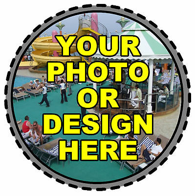 PERSONALISED  CAR TAX DISC HOLDER - OWN PHOTO/DESIGN