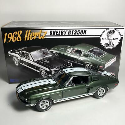 ACME A1801825B 1968 FORD MUSTANG SHELBY GT350H LIMITED ED OF 68 DIECAST CAR 1:18