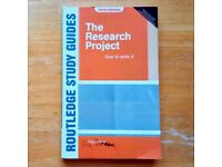 The Research Project: How to Write It by Berry, Ralph (use, acceptable condition)
