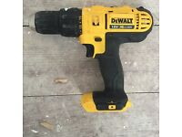 DEWALT 18V CORDLESS COMBI DRILL, UNIT ONLY, WORTH £145 . NO OFFERS