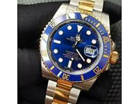 Rolex Submariner Date 116613LB genuine bi metal stainless steel 18ct gold
