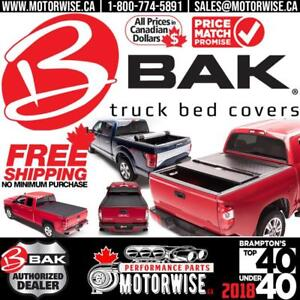 Bakflip Tonneau Covers | G2, MX4, Revolver, F1 & more | in Stock Ready to Ship with Free Shipping Canada Wide