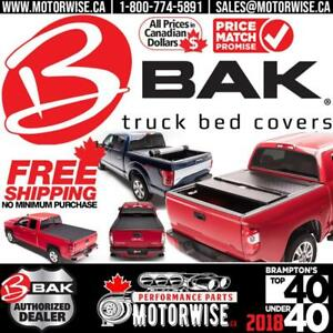 Bak Bakflip Tonneau Covers | G2, MX4, Revolver, F1 & more | Hundreds in Stock Ready to Ship & Free Shipping Canada Wide