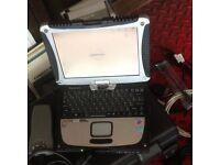 Diagnostic laptop Panasonic cf-19 touchscreen