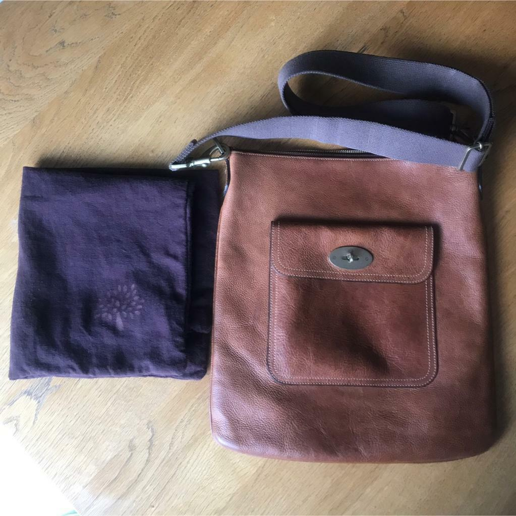 7d653b13e18c Mulberry Seth leather messenger bag