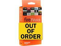 unwanted / broken amazon firesticks fire tv sticks - any generation