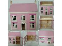 Pink Doll.House in Good Condition