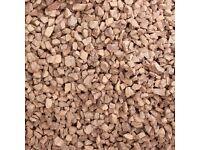 Garden Chips - red granite chips